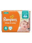 Pampers Simply Dry 4 Maxi X36