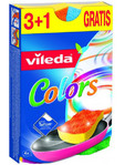 Vileda Colour Sponges 3+1 Free