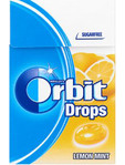 Orbitsugar Free Drops Lemon Mint 33gr