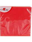 Susy Card Napkin Red X20 25x25cm
