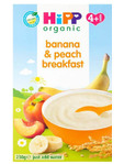 Hipp Organic Banana & Peach Breakfast 230g