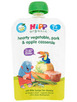Hipp Organic Hearty Vegetable Pork & Apple Casserole 130gr