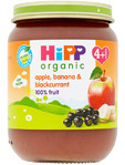 Hipp Organic Apple Banana & Blackcurrant 125g