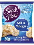 Snack A Jacks Salt & Vinegar 26g