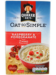 Quaker Oat So Simple R/berry & Pomegranate 334g