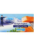 Birdseye Cod Fillet Fish Fingers