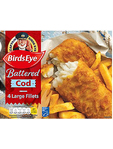 Simply Fish Cod In Batter 480g