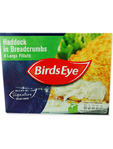 Birds Eye Haddock In Breadcrumbs X4 480gr