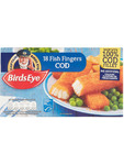 Birds Eye 18 Cod Fish Fingers 504g