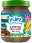 Heinz Mum's Own Banana & Chocolate Pudding 120g