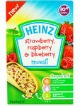Heinz Strawberry Raspberry & Blueberry Muesli 200gr