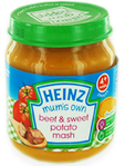 Heinz Mum's Own Beef & Sweet Potato Mash 120g