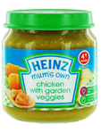 Heinz Mum's Own Chicken With Garden Veggies 120g