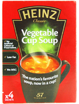 Heinz Vegetable Cup Soup X4 Sachets