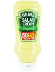 Heinz Salad Cream Original Topdown 425g + 50% Free
