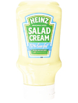Heinz Salad Cream Extra Light Topdown 435g
