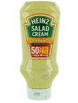 Heinz Salad Cream Light Topdown 415g + 50% Free