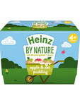 Heinz By Nature Apple & Oat Pudding  4x100gm