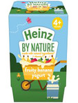 Heinz By Nature Fruity Banan Yogurt 2pack