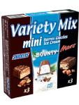 Variety Mix Mini Ice Cream Bars X9