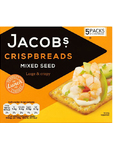 Jacobs Crispbreads Mixed Seed X5