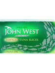 John West Smoked Tuna Slices In Olive Oil 120g