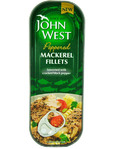 John West Peppered Mackarel Fillets 110g