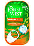 John West Mackerel Fillets In Mexican Style Sauce 125g