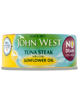 John West No Drain Tuna Steak In Sunflower Oil 110g