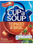 Batchelor's Cup A Soup Tomato & Basil X4