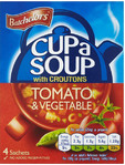 Batchelor's Cup A Soup Tomato & Vegetable X4