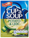 Batchelor's Cup A Soup Potato & Leek X4