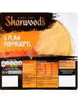 Sharwood's Poppodoms Plain X8