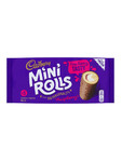 Cadburry Mini Rolls R.berry X5