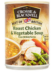 Crosse & Blackwell Roast Chicken & Vegetable Soup 400g