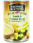 Crosse & Blackwell Leek & Potato Soup 400g
