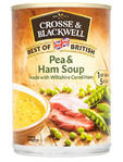 Crosse & Blackwell Pea & Ham Soup 400g