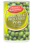 Crosse & Blackwell Marrowfat Processed Peas 180g