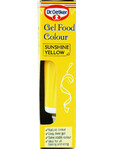Dr.oetker Gel Food Colour Sunshine Yellow 10gr