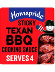 Homepride Sticky Texan Bbq Sauce 200g