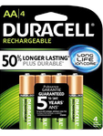 Duracell Rechargeable Aa X2