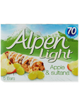 Alpen Light Apple & Sultana Bars X5