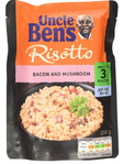 Uncle Ben's Risotto Bacon & Mushroom Pouch 250g