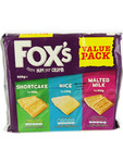 Fox's Value Pack Plain Biscuits 3x200g