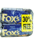 Fox's Chunkie Cookies Milk Chocolate 2x180g 30% Free