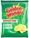 Golden Wonder Cheese Onion 32.5g