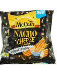 Mccain Nacho Cheese Flavour Ridged Wedges 600g