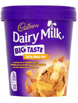 Cadbury Dairy Milk Big Taste Toffee Whole Nut Tub 480ml