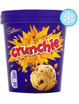 Cadbury Crunchie Ice Cream Tub 480ml