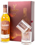 Glenfidich Malt Whiskey 15 Years + 2 Glasses 75cl